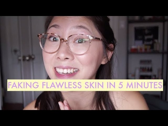 Faking Flawless Skin in 5 Minutes (with Westman Atelier, Glossier, Charlotte Tilbury, RMS Beauty)