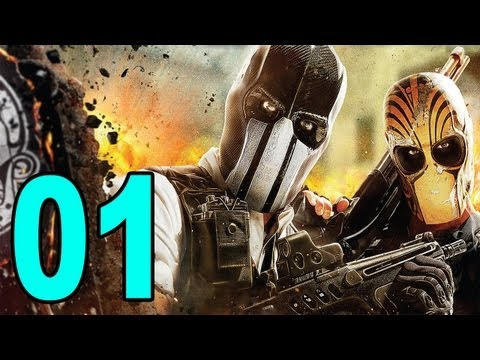 Army of Two: The Devils Cartel - Part 1 (Let's Play / Playthrough / Walkthrough)