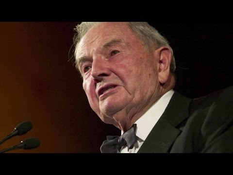 Banker and philanthropist David Rockefeller dies