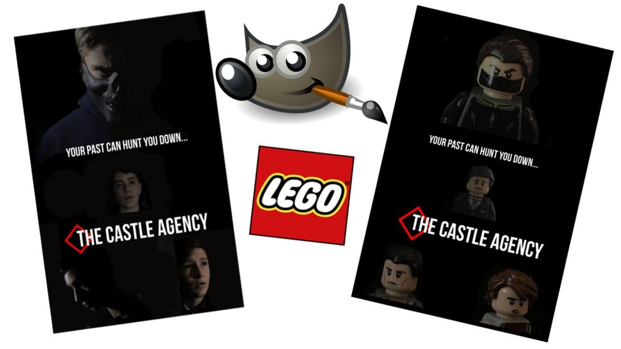 Poster design gimp - Re Creating A Poster And Making It Lego Using Gimp Backyard Filmmaking Episode Twenty Two