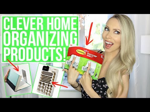 Thumbnail: 12 Clever Home Organization Products You NEED!
