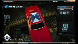 [Tutorial] Need For Speed World - General Lee vinyl [HD]