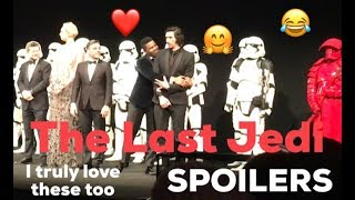 Royal Premiere THE LAST JEDI Star Wars European Royal Premiere INTRODUCTION with FULL CAST
