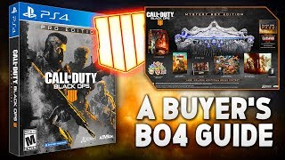 Black Ops 4: The BEST Versions to Buy For Your Money