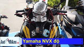 Mãn nhãn với dàn Yamaha NVX độ của dân chơi Sài thành
