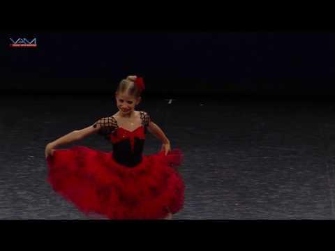 Shpakouskaya Vera. 8 years. Kitri (Don Quixote). YAGP2017 Paris