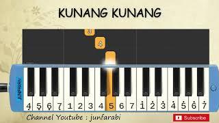 not pianika kunang kunang - tutorial belajar pianika lagu anak - not angka