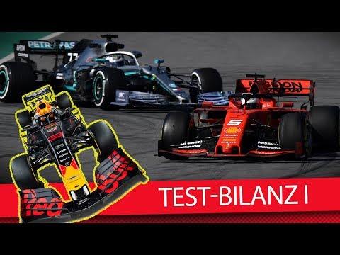 Bilanz der 1. Testwoche in Barcelona - Formel 1 2019 (VLOG)