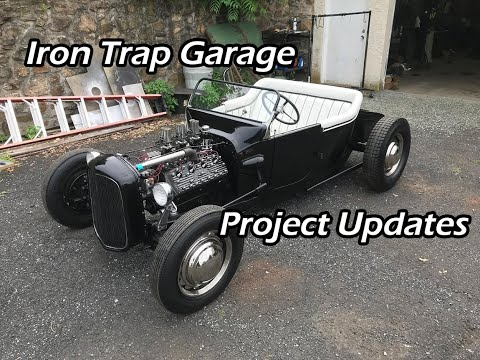 Iron Trap Garage Project Updates