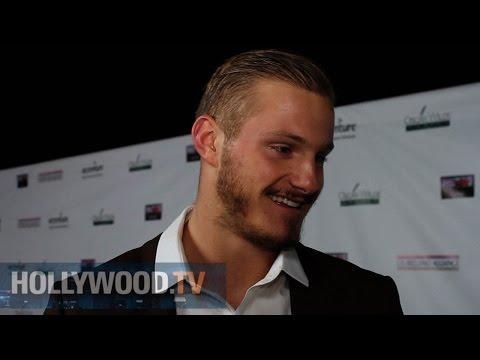 Alexander Ludwig Talks Vikings - Hollywood TV