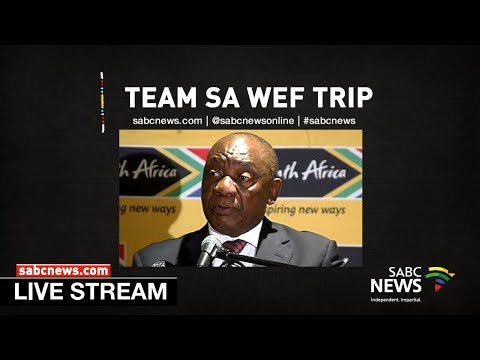 Team South Africa meets ahead of World Economic Forum
