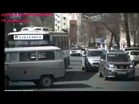 Троллейбусный трос вызвал аварию в Хабаровске 2014