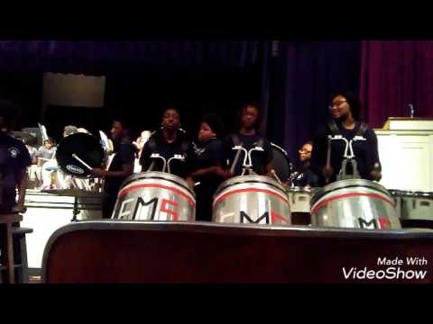 Mash The Trash - Eiland Middle School 7th and 8th grade Percussion
