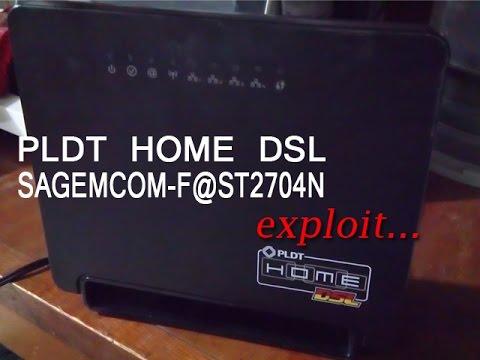 PLDT Sagemcom F@ST 2704N - Hack