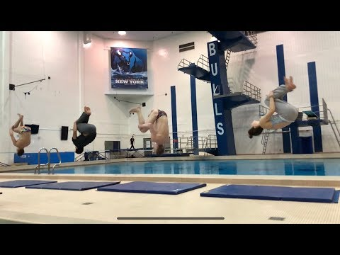 Platform Diving with Upstate New York Diving