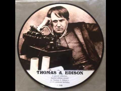 Edison 150 Year Anniversary Record