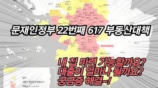 617 부동산대책 무주택자 주택담보대출 LTV, DTI…