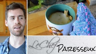 French Onion Soup Gluten Free & Vegetarian! Le Chef Paresseux Ep. 32