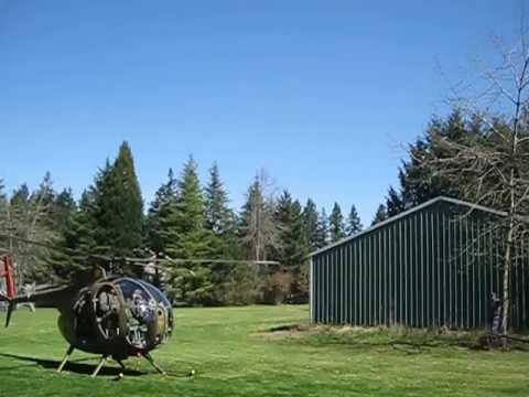 Vietnam War Era Hughes OH-6 Loach Helicopter
