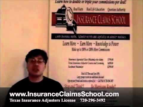 Texas Insurance Adjuster Licensing Class | Insurance Adjuster Training TX |  TX.m4v