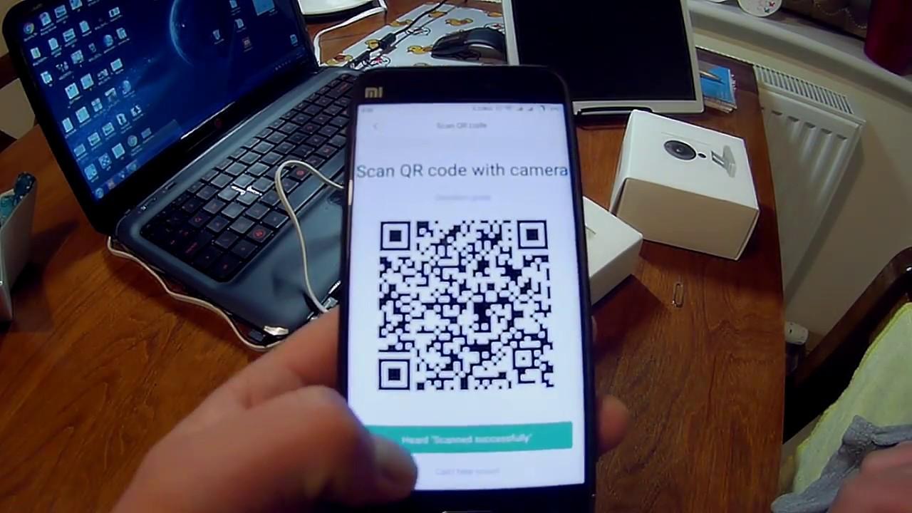 First Setup camera XIAOMI XIAOFANG 1080p