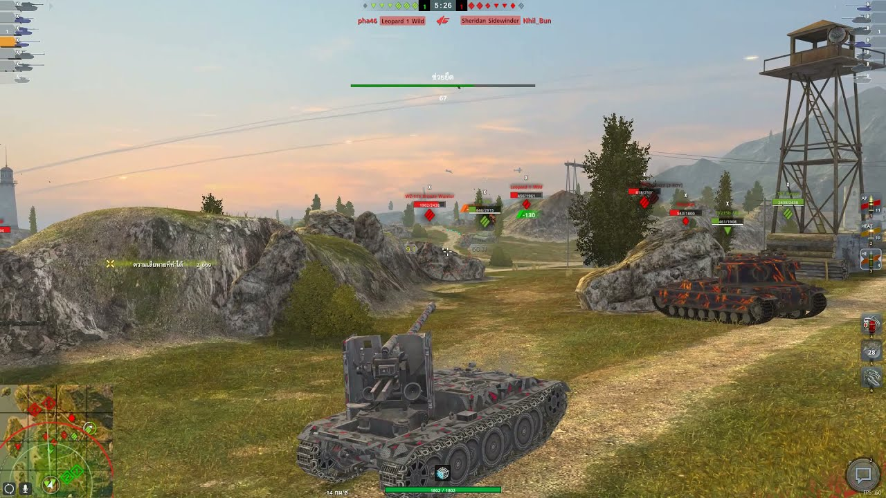 Download World of Tanks Blitz Thailand : Mastery Grill 15 (ปิ่งย่าง) 6403Dmg 3Kills