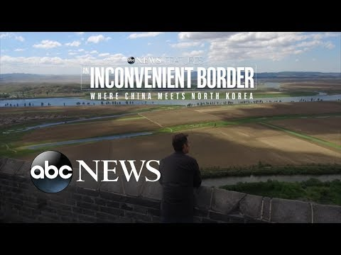 'An Inconvenient Border' clip 1: Cruising North Korea's Border with China | ABC News