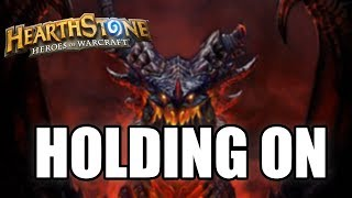 Holding onto Deathwing (Hearthstone)