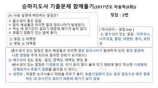 2017년도(8회) 마…