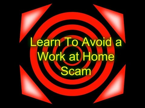 Top Ten Ways to Avoid a Work at Home Scam