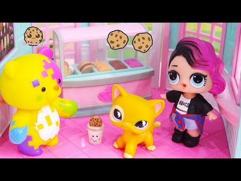 LOL Surprise Doll Cries Over Ice Cream - Cookie Swirl Toy Play Video