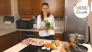 Rosół z kaczki i kaczka z rosołu - to proste! Przepis na doskonały obiad dwudaniowy. MENU Dorotki