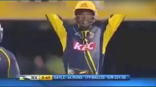 Chris Gayle Fastest Centuty 101 Runs in 22 balls in T20 Cricket