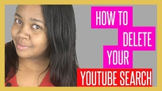 How To Delete Your YouTube Search History 2018 - iPhone iPad iPod