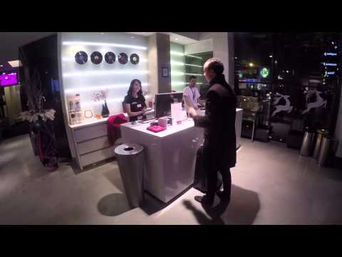 Bitcoin payment system at Comfort Hotel LT