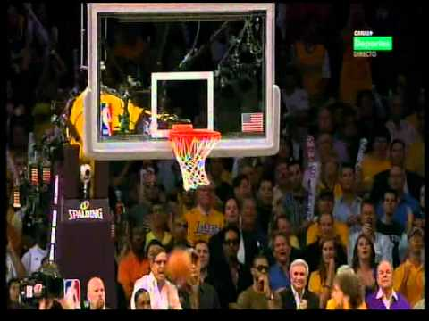 NBA Finals 2010. Final seconds Lakers-Celtics (Game 7) HQ (Spanish)