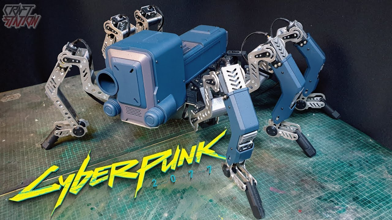 Flathead from CyberPunk2077 In Real Life how to make Part 1