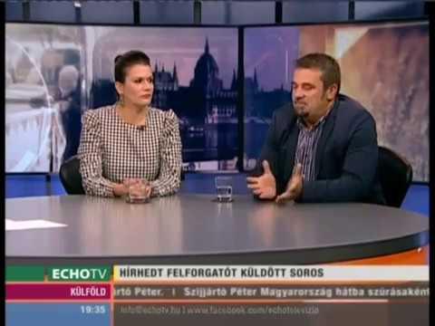 Hírhedt felforgatót küldött Soros - Echo Tv