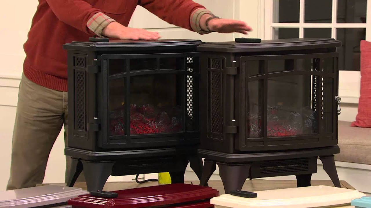 For More Information or to Buy: http://gather.qvc.com/item/duraflame-infrared-quartz-stove-heater-with-flame-effect-V32918/?cm_ven=YT&cm_cat=AU&cm_pla=DANHUG...
