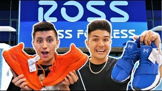 SNEAKER SHOPPING AT ROSS CHALLENGE with LEGIT VLOGS!