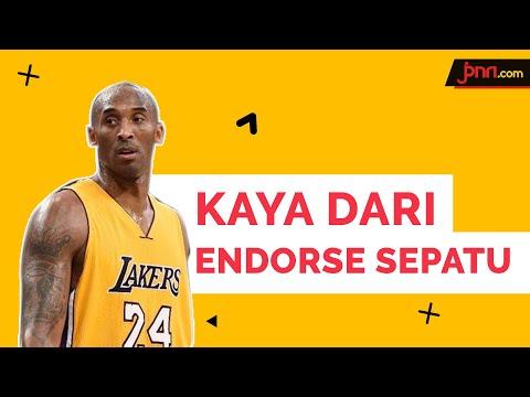 Kobe Bryant Salah Satu Atlet Basket Terkaya Dunia