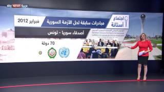 المبادرات السابقة لحل الأزمة السورية