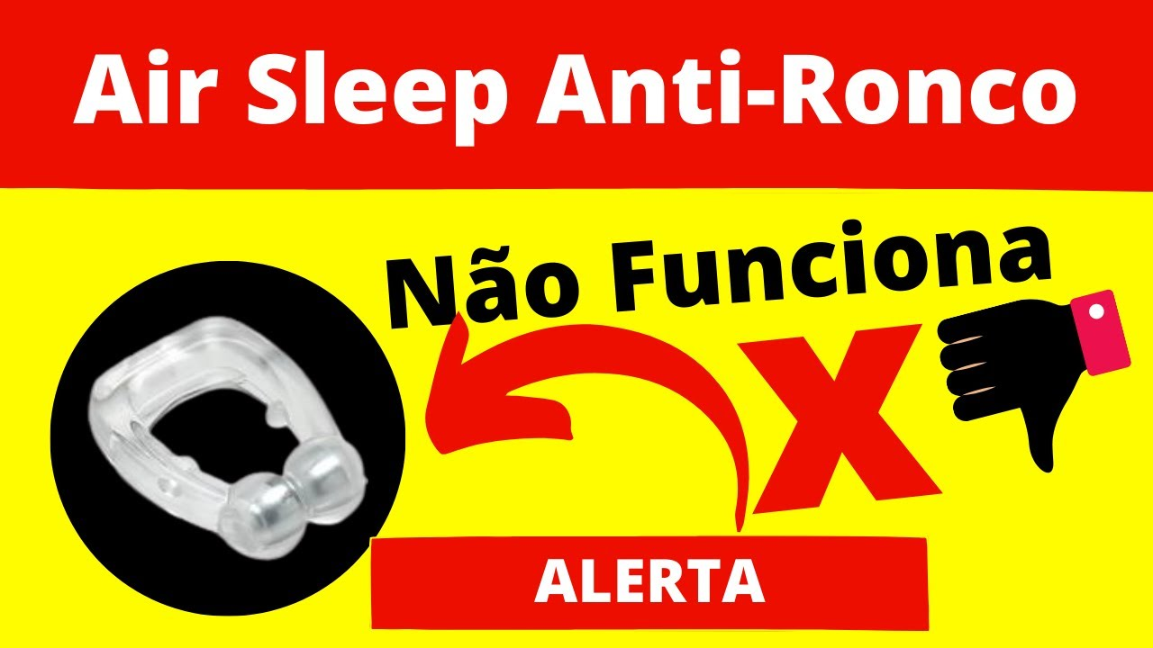 clipe nasal air sleep anti ronco