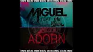 Miguel Feat. Wiz Khalifa - Adorn