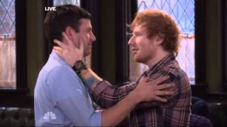 undateable 2014 s02e07 e08 live episode west coast Ed Sheeran Kisses Brent Morin