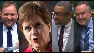 Parliament ERUPTS with Laughter as James Cleverly MOCKS Nicola Sturgeon's SNP Trade Policy