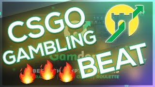 I MADE A FIRE BEAT WITH THE GAMDOM WEBSITE!! CSGO GAMBLING BEAT Video
