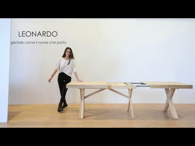 708 tavolo LEONARDO