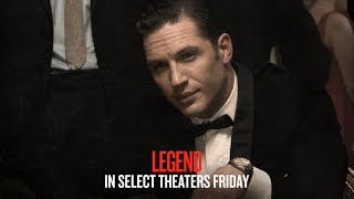 Legend - In Select Theaters Friday (TV Spot 7) (HD)
