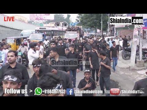6th Muharram Juloos-e-Shohada-e-Karbala, Masab Tank 1439-2017-18